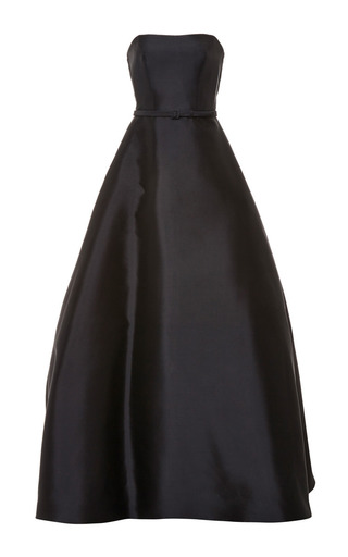 Medium reem acra multi a line gown with back insert