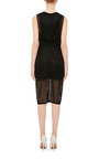 Bonded Lace Silhouette Dress by JONATHAN SIMKHAI Now Available on Moda Operandi