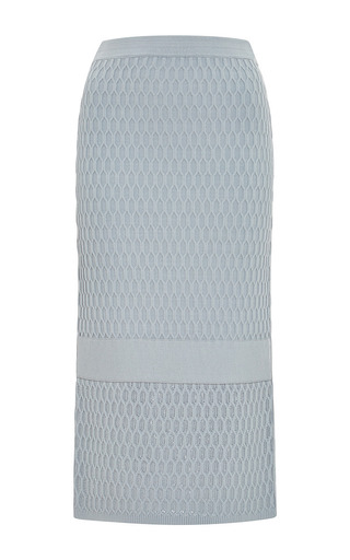 Medium jonathan simkhai dark grey hex band skirt