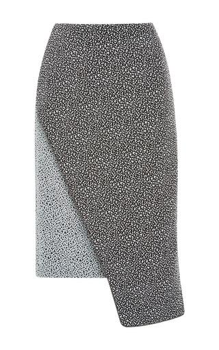 Medium jonathan simkhai dark grey spackle angle skirt