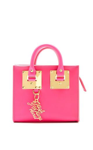 Medium sophie hulme pink box pink albion box tote bag
