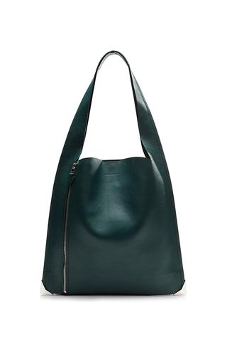 Medium elena ghisellini green estia sensua hobo bag