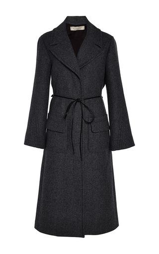 Medium nina ricci dark grey wool and cashmere coat