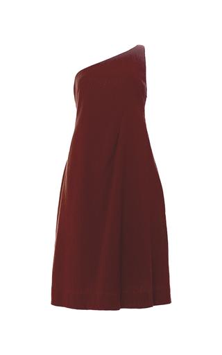 Medium apiece apart burgundy sappho one arm swing dress 2
