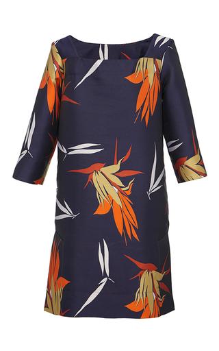 Medium marni print birds of paradise print shift dress 2