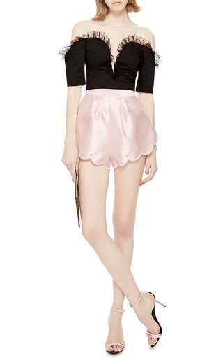 Cupids Web High Waisted Shorts by ALICE MCCALL Now Available on Moda Operandi