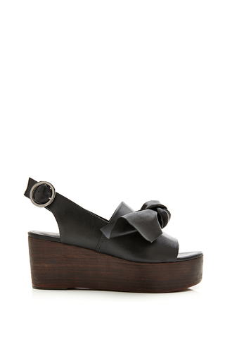 Medium tibi black black estel sandal