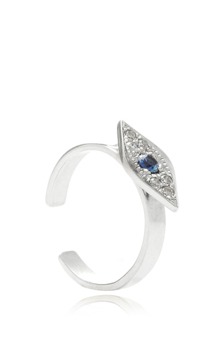 Evil Eye Ear Cuff by SYDNEY EVAN Now Available on Moda Operandi