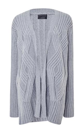 Medium cushnie et ochs dark grey wool cardigan