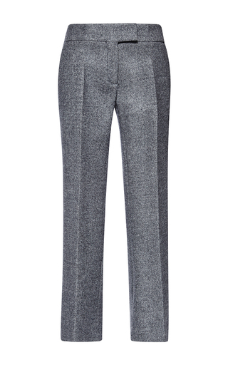 Medium antonio berardi dark grey double birds eye wool trouser