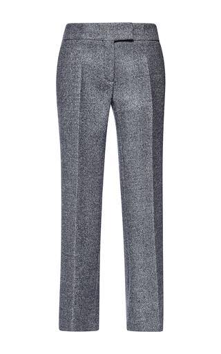 Medium antonio berardi dark grey double birds eye wool trouser