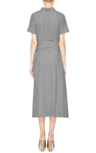 Gingham Cotton Shirtdress by LISA MARIE FERNANDEZ Now Available on Moda Operandi
