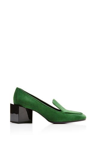 Medium pierre hardy green kinks high heel loafer in green