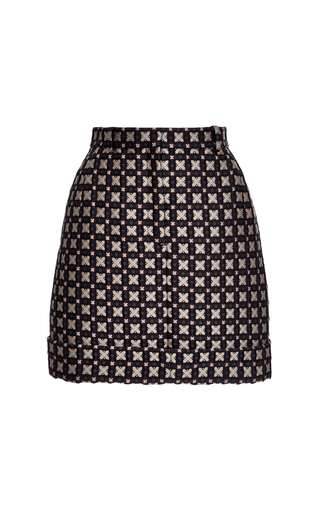Medium thom browne print beltloop mini skirt