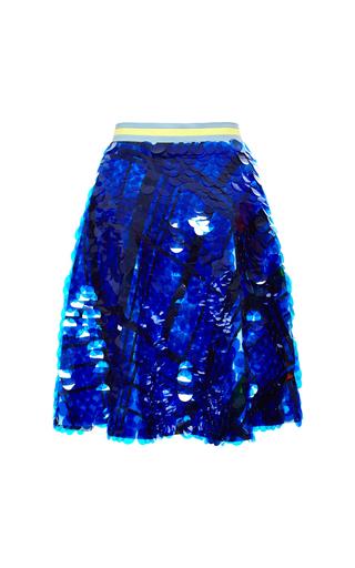 Medium preen blue blue reversible carole skirt