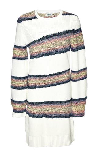 Medium kenzo multi tie dye rib sweater dress