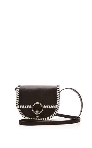 Medium kenzo black polish messenger bag
