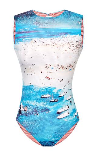 Medium agua de coco print yacht one piece swimsuit 2