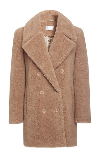 Teddy Bear Pea Coat by Carven | Moda Operandi