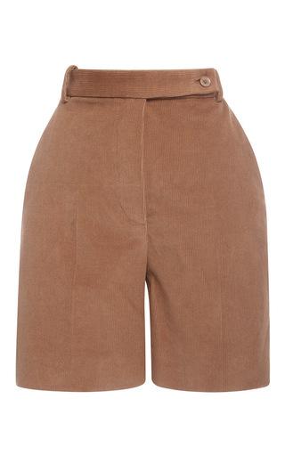 Medium carven brown corduroy bermuda short