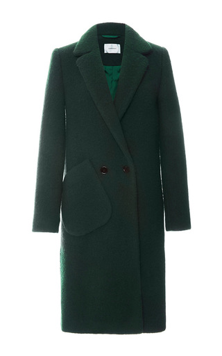 Wool Coat by CARVEN Now Available on Moda Operandi