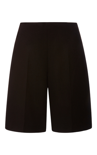 Medium carven brown wool shorts