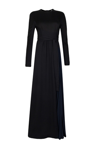 Medium issa black vanka heavy double georgette dress
