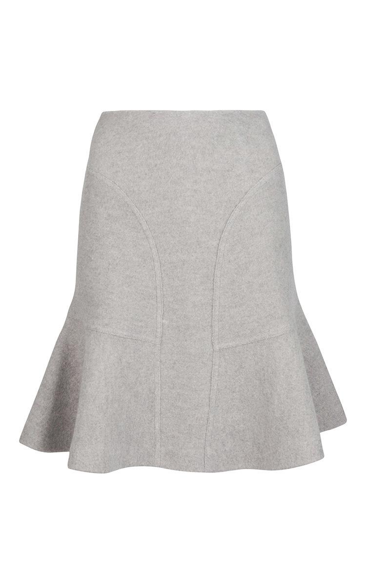 d327926cc Chelsea Felted Wool Skirt by Issa | Moda Operandi