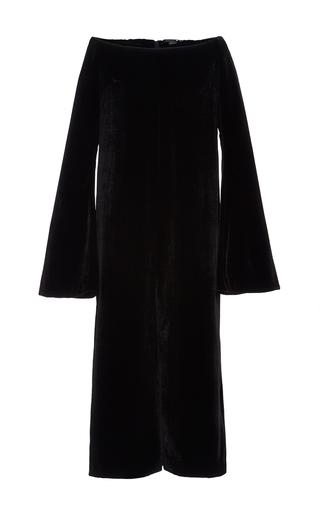Medium ellery black heathen decolletage dress