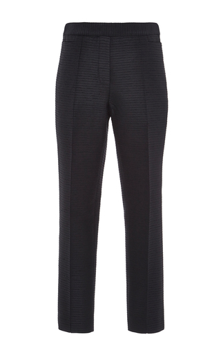 Medium ellery black white duke classic tux pant
