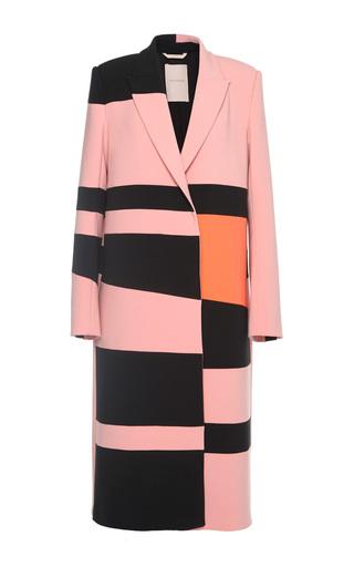 Medium roksanda ilincic pink dust rose trimble coat