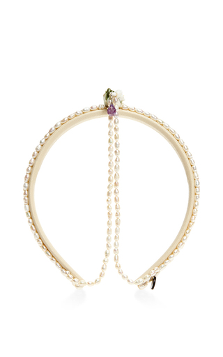 Medium masterpeace white may lily headband