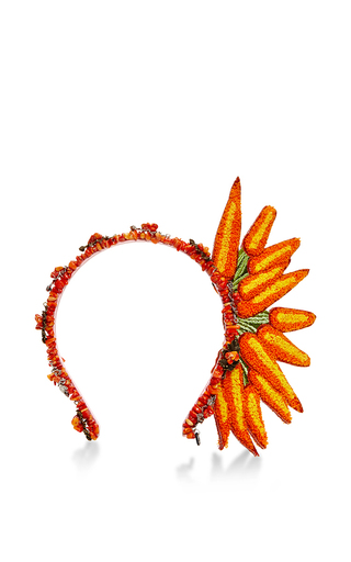 Medium masterpeace orange carrot headband