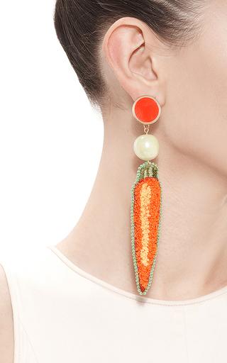 Carrot Earrings by MASTERPEACE Now Available on Moda Operandi