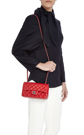 9919083c8b9e Red Chanel Quilted Flap Bag - Best Quilt Grafimage.co