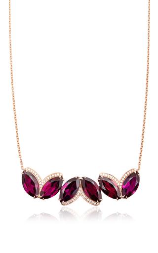 Medium dana rebecca burgundy lindsay allison rhodolite garnet necklace