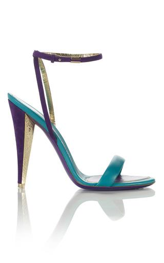 Medium salvatore ferragamo purple blejan sandal 4