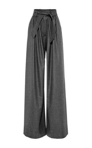 Medium martin grant dark grey wide leg wool pant