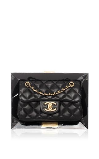 d4535da43b5c Ended · Hermes VintageChanel Limited Edition Vip Black Frame Bag