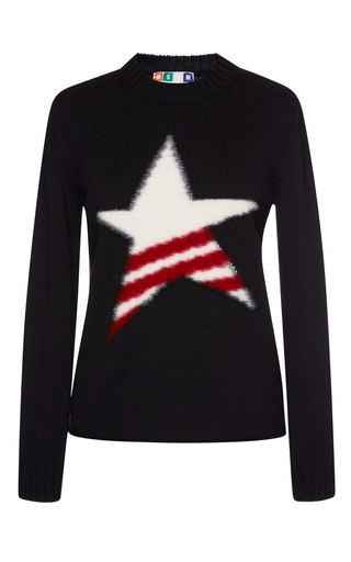 Star Knit Pullover by MSGM Now Available on Moda Operandi