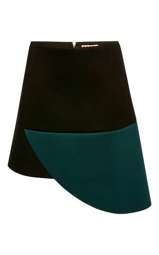 Medium marni multi lightweight bicolor bonded jersey mini skirt