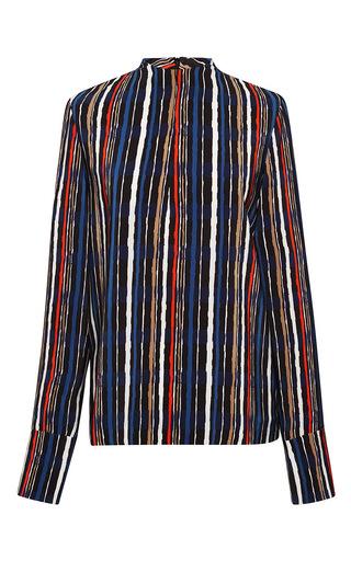 Medium marni multi silk crepe shades blouse