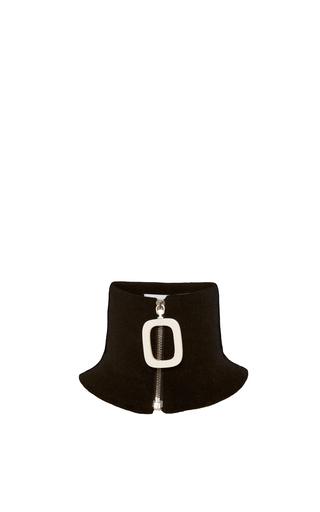 Medium j w anderson black knitwear neck band