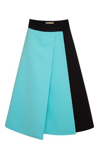 Medium fausto puglisi black wool skirt