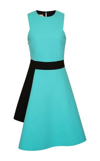 Medium fausto puglisi blue asymmetrical a line dress