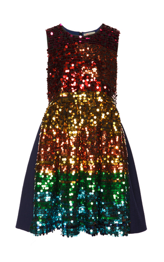 Medium preen multi rainbow olivia dress 8y 10y 12y
