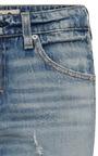 Twist Sweet Cheeks Low Rise Skinny Jeans by AMO Now Available on Moda Operandi