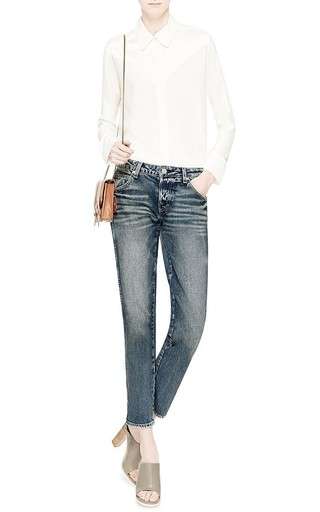 Tomboy Yours Truly Low Rise Jeans by AMO Now Available on Moda Operandi
