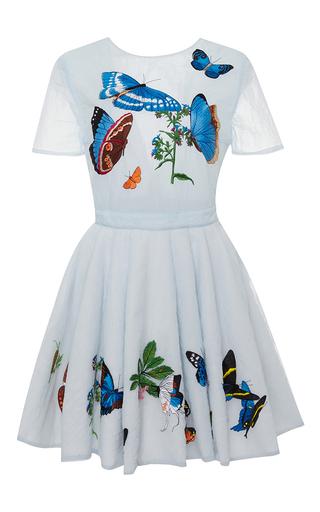 Medium vivetta light blue gold woman ss circular dress