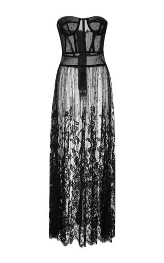 Medium rosamosario black il cuore del bancario corset dress